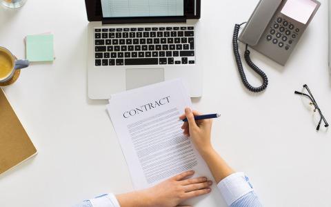 合同附件盖上合同专用章有效吗